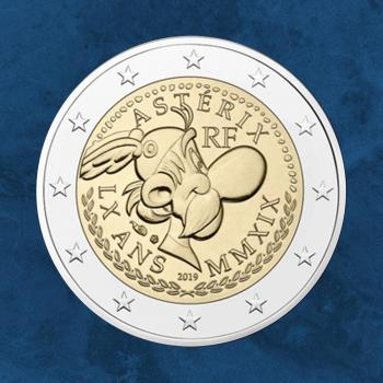 Frankreich - 60 Jahre Asterix - 2 Euro 2019 PP / Proof