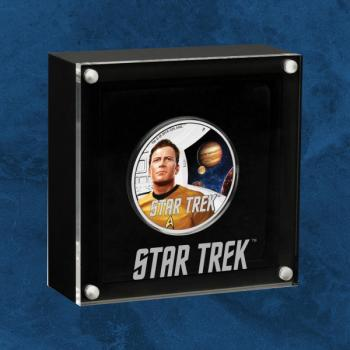 Tuvalu - Star Trek: The Original Series - Kirk - 1 $ 2019 PP - Silber