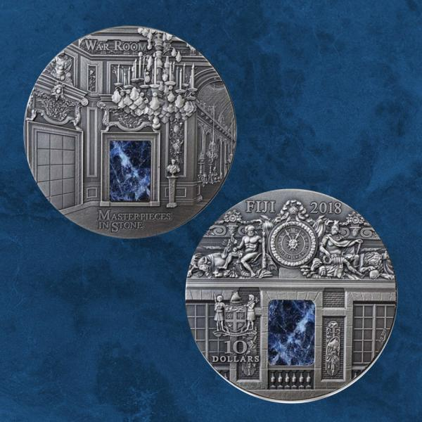 Fiji - The War Room - Masterpieces - 10 $ 2018 - Silber - 3 Unzen 3 Oz