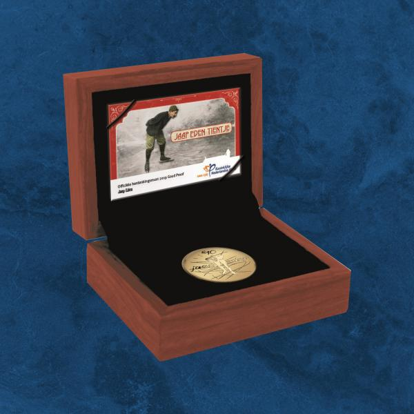 Niederlande - Jaap Eden - Sportlegende - 10 Euro Gold PP / Proof 2019