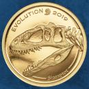 Mongolei - Evolution of Life Sinraptor - 1000 Togrog 2019 Proof - Gold