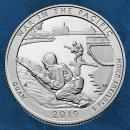 USA - War in the Pacific National Historical Park - 25 Cents 2019 unc. D